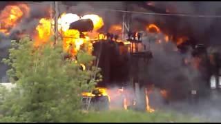 Пожар на трансформаторной подстанции.(, 2015-08-07T16:45:55.000Z)