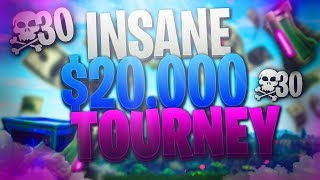🔴 $20,000 Fortnite YouTuber Tournament | AlmightySneaky & PackAPuncher
