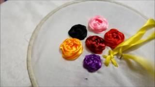 Ribbon Rose | Ribbon Embroidery