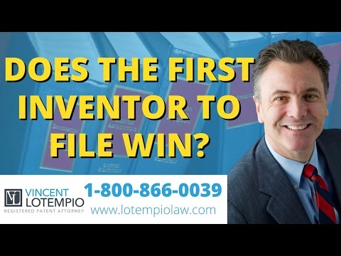 First to File a Patent - Why To Be The First Inventor To File - Inventor FAQ - Ask An Attorney