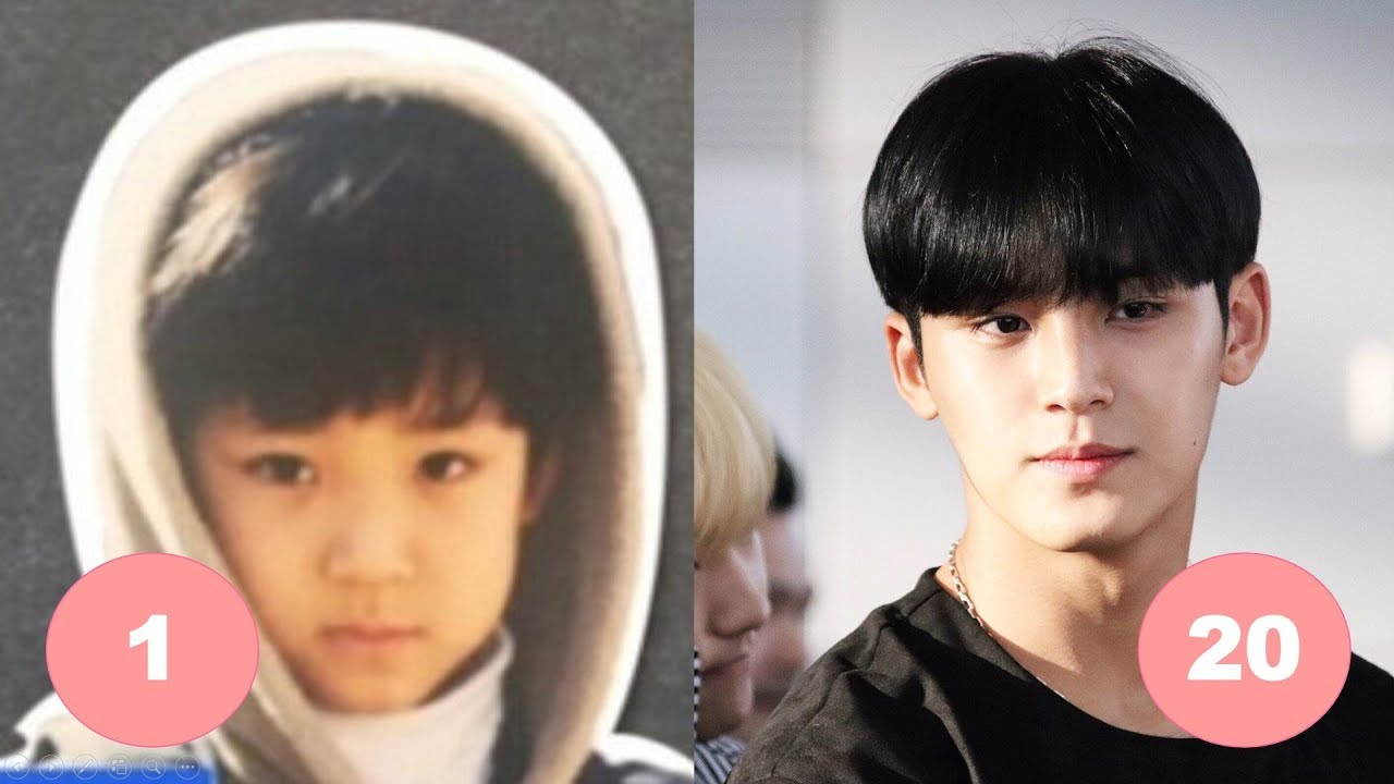 Mingyu SEVENTEEN Childhood | From 1 To 20 Years Old - YouTube