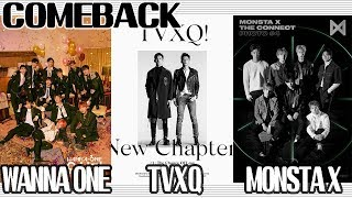 Show Music Core Live ★ Comeback Stage : TVXQ, MONSTA X, WANNA ONE, SAMUEL 20180331