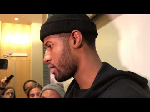Paul George Postgame vs Golden State Warriors