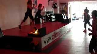Bodyattack 78 launch track 4 plyometrics Class Fitness, Bangor, Northern Ireland