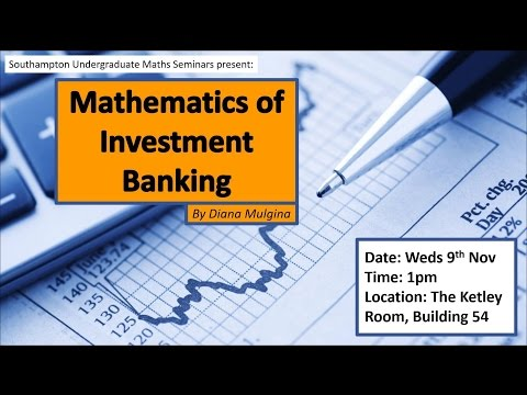 Mathematics of Investment Banking