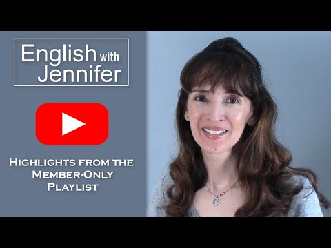 Highlights from Jennifer's Member-only Playlist - JOIN today!