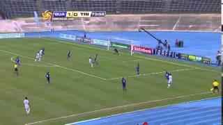 Guatemala venció 2-0 a Trinidad y Tobago