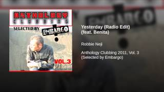 Yesterday (Radio Edit) (feat. Benita)