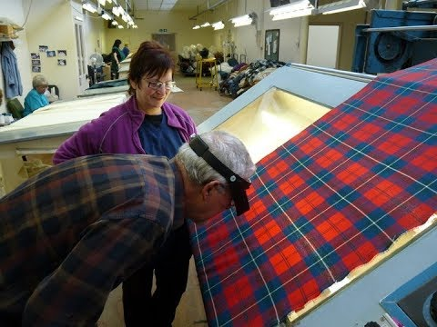 How Much Time and Money for a Custom Weave Tartan?