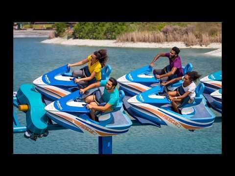 POV front seat SeaWorld San Antonio Wave Breaker the Rescue Coaster June 15th 2017
