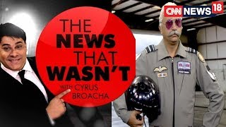 Rafale Controversy Still Continues To Fly High, Cyrus Talks To A Pilot | The News That Wasn't thumbnail