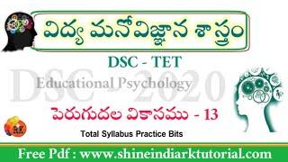 Dsc2020 #Educational_Psychology #బోధన పద్ధతులు #ShineindiaRkTutorial Pdf Material.