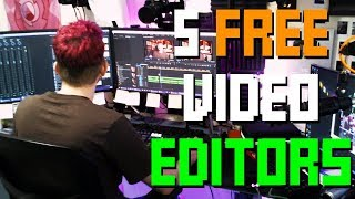 5 FREE Video Editors You Should Try