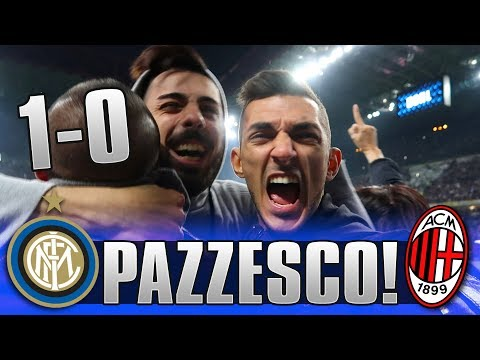 Il Boato Di SanSiro...INTER 1-0 MILAN | SAN SIRO LIVE REACTION GOL HD