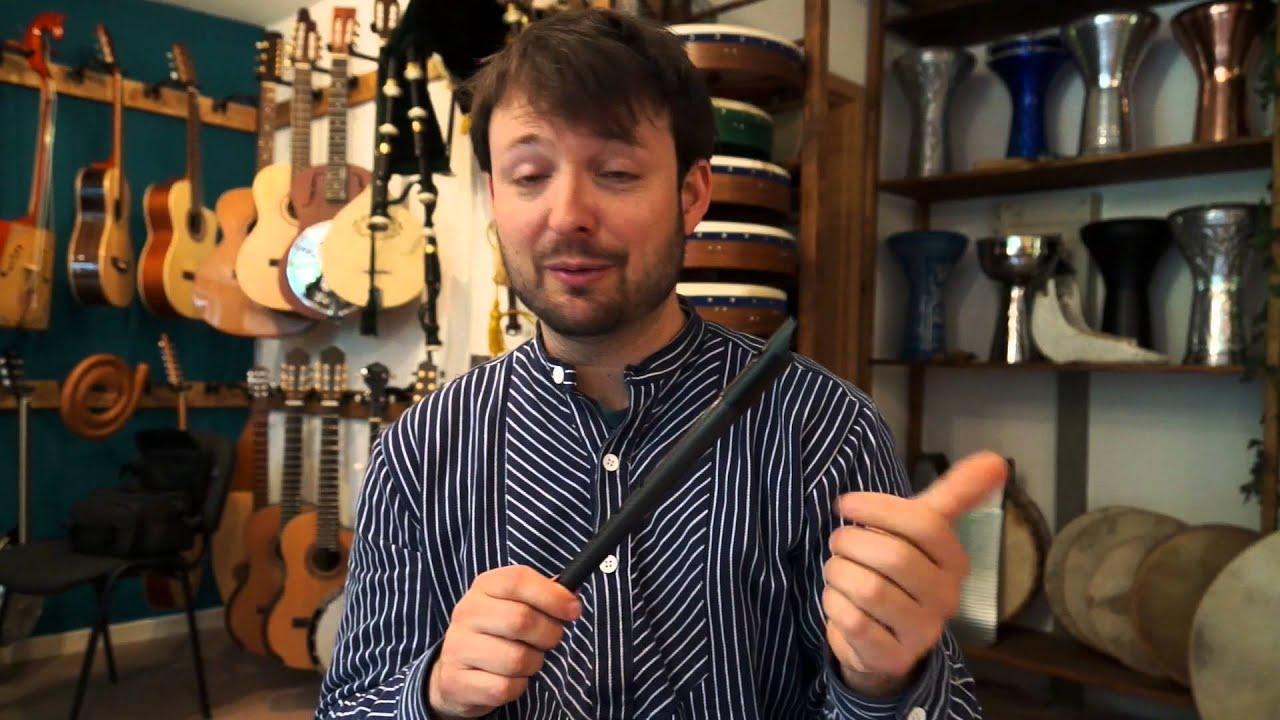 Carbony Tin Whistle D Aus Carbonfiber Carbon Fibre Youtube