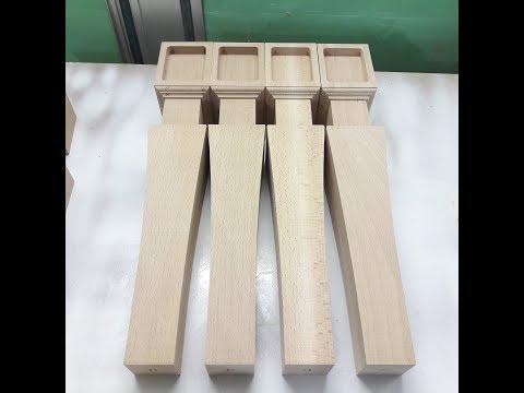 Как сделать деревянные ножки для стола