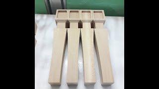 как сделать ножки из дерева своими руками