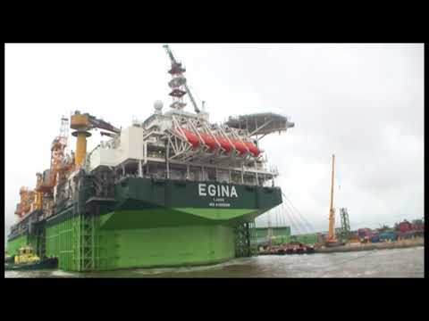 Sailing of Egina FPSO to permanent site