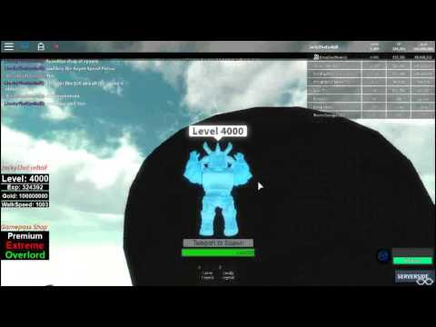 Roblox Infinity RPG speed record whitout admin command