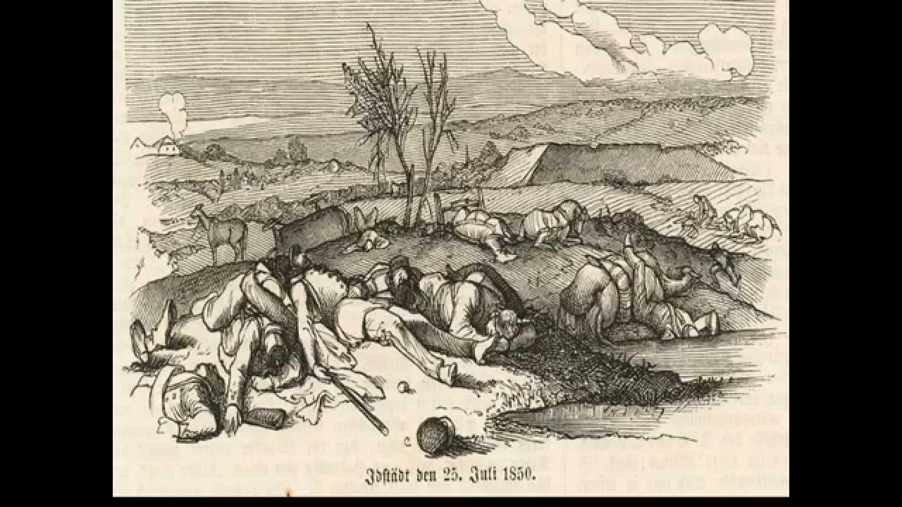 1848 - Første Slesvigske Krig - YouTube