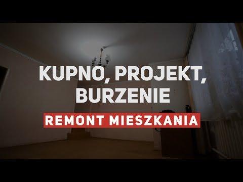 Remont mieszkania - prezentacja, burzenie, projekt
