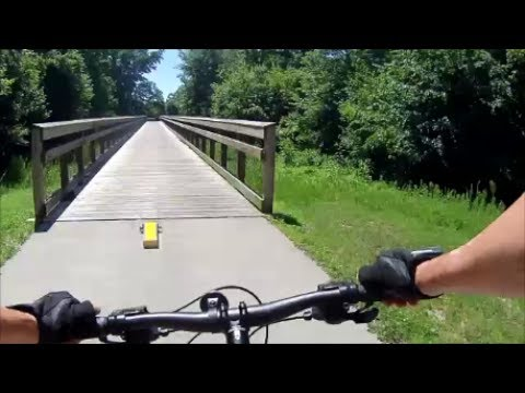 Mountain Biking - Neuse River Trail Raleigh, NC - Anderson Point to Clayton - May 29, 2017