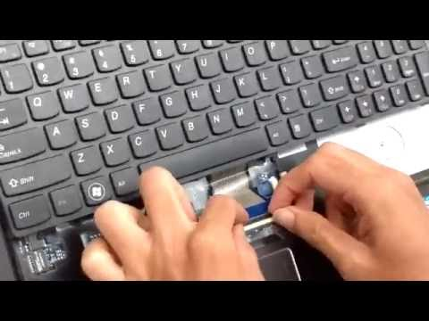 Replacing Laptop Keyboard - Lenovo G570