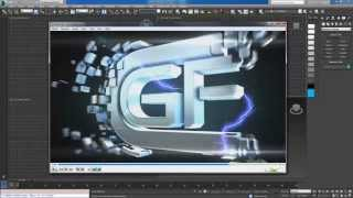 create cool intro in 3dsmax and element