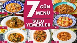 Bugün Ne Pişirsem #2: 7 Güne 7 Farklı Sulu Yemek Tarifi (Menü Önerileriyle!) - Sulu Yemek Tarifleri