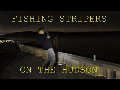 Fishing The Striper Run On The Hudson River