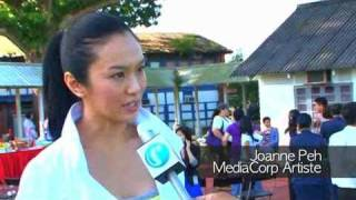 Singapore Police - MediaCorp Drama: 警徽天职 (C.L.I.F) - Interview with Joanne Peh