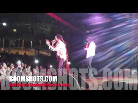 "BOOMSHOTS: Buju Banton, Stephen Marley & Jr. Gong ""Jah Army"" Live"