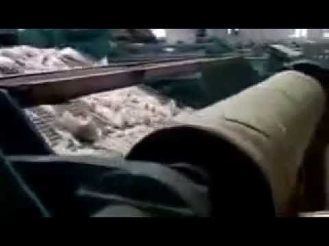 Wool cleaning production line