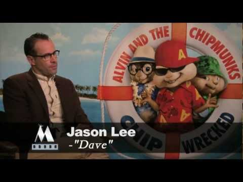 ALVIN AND THE CHIPMUNKS: CHIPWRECKED - Jason Lee interview