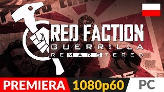 RED FACTION GUERRILLA Re-Mars-Tered PL  Symulator złomiarza...na Marsie!   Gameplay po polsku