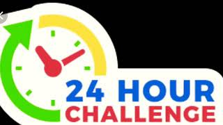 24 hours in a tent!!