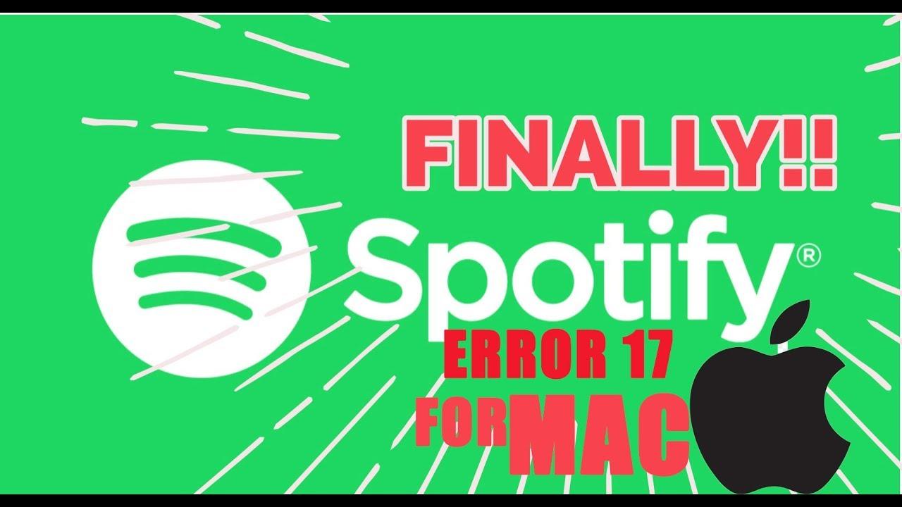 How to fix Spotify error 17 firewall on mac ( most errors)