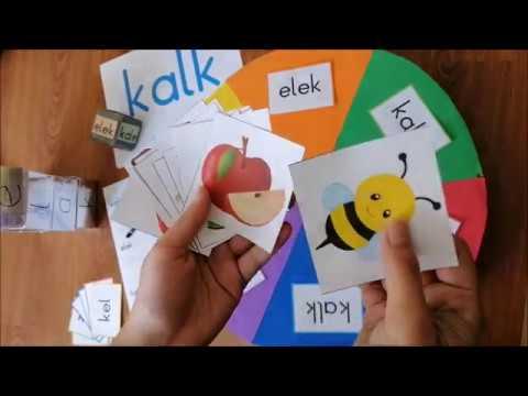 Özel eğitim alan öğretmeni Gizem DEMİR tarafından hazırlanan okuma-yazma çalışmaları...