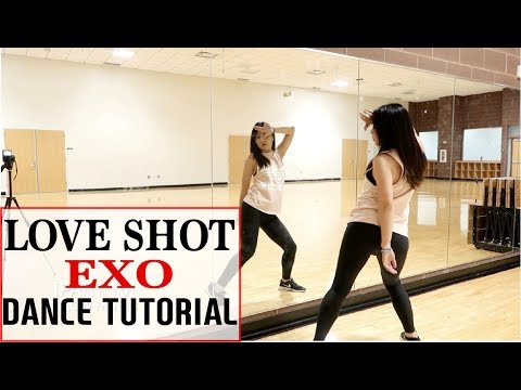"EXO 엑소 ""Love Shot"" Lisa Rhee Dance Tutorial"