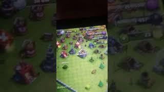 Clash of clans ala batalla