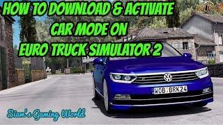How to Download & Activate Car Mod on Euro Truck Simulator 2(VOLKSWAGEN PASSAT)