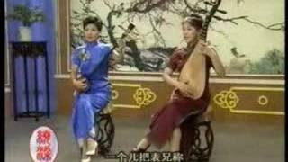 Chinese Suzhou Pingtan Ballad-Dream of Red Chamber-night vis