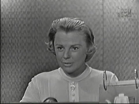 What's My Line? - Branch Rickey; June Allyson;  Chuck Connors [panel] (Sep 13, 1959)