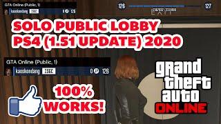 GTA Online Solo Public Session PS4 version 1.51 (2020) 100% Works!