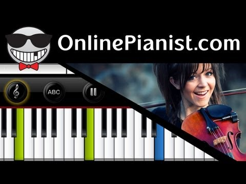Lindsey Stirling - Electric Daisy Violin - Piano Tutorial