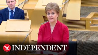Nicola Sturgeon breaks with England to announce return to tiered restrictions