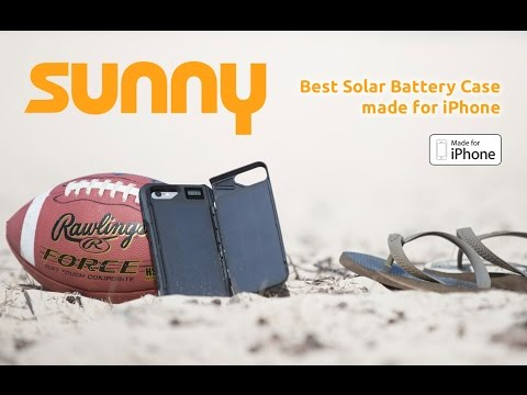 SUNNY - The best Solar Battery Case for iPhone 7 & iPhone 6/6S
