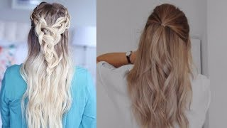 Beautiful hairstyle for Long Hair ★ Hairstyle video tutorial ★ Everyday hairstyles |Part-1
