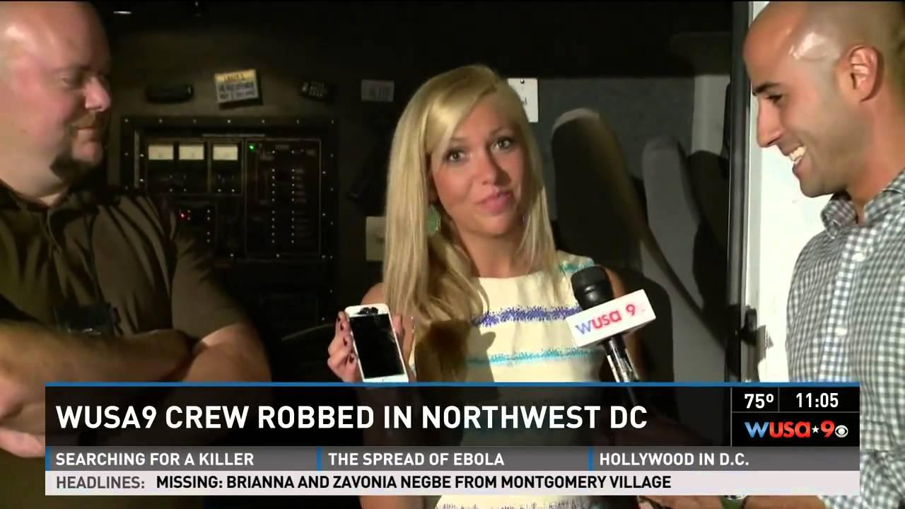 Wlox news crew robbed