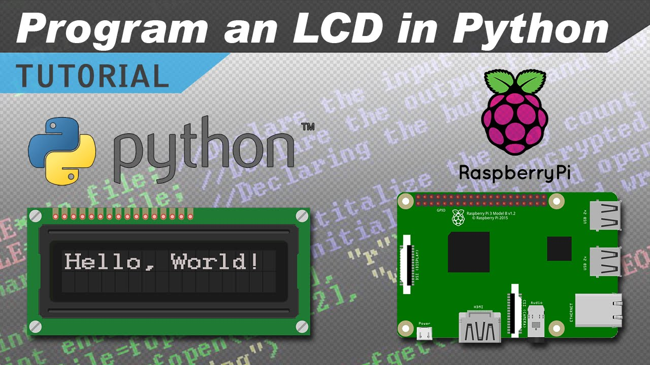 How to Setup an LCD on the Raspberry Pi and Program It With